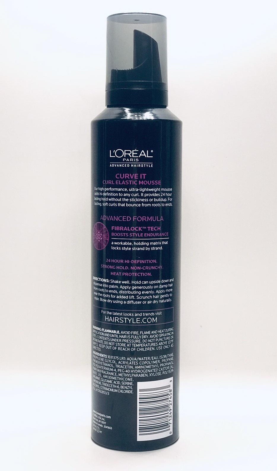 LOreal Natures Therapy Mega Curves Curl Defining Gel