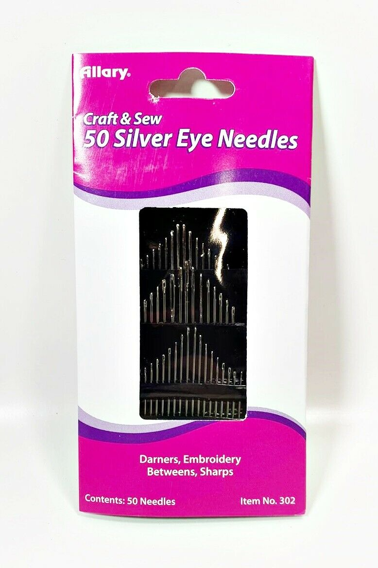 50 Pieces Plastic Sewing Needles Blunt 9CM 3.5 Inch Length Large Eye 6mm